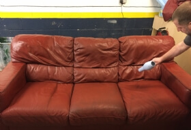 Leather sofa cleaning Belfast